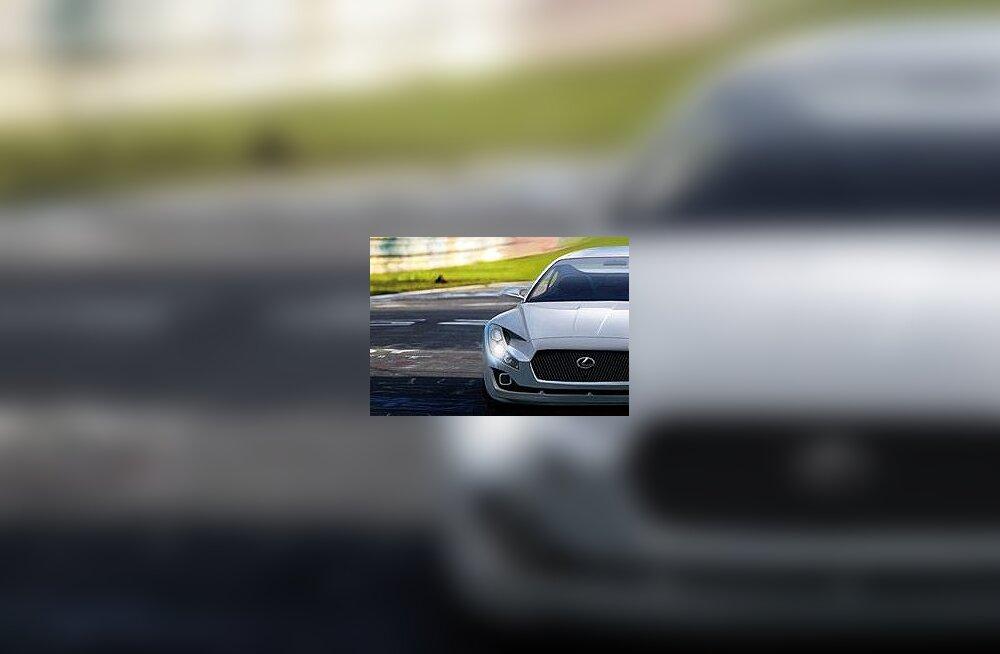 Või varustatakse elektriline superauto siiski Lexuse bumerangiga ringis?