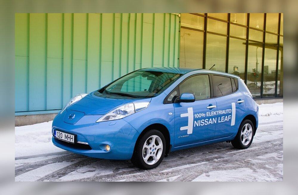 Тест-драйв электрокара Nissan Leaf: будущее сегодня