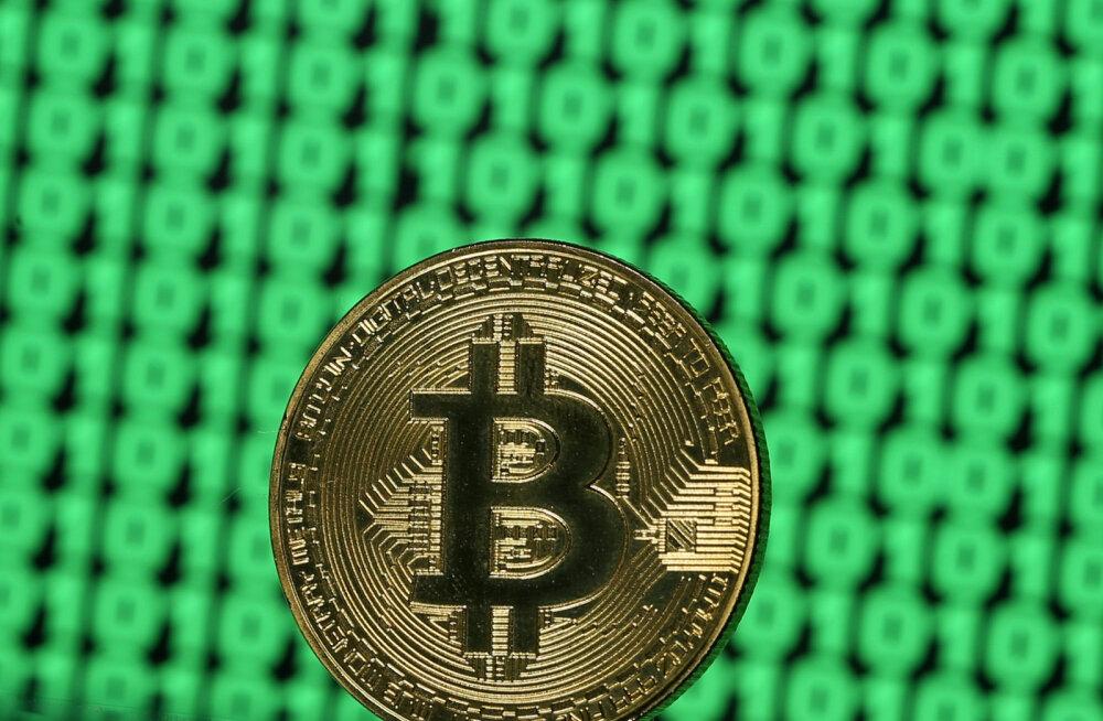 Bitcoin kukkus päevaga tuhande dollari võrra
