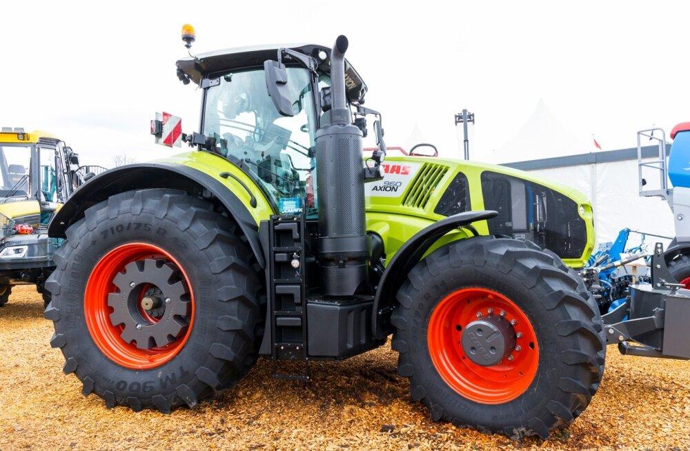 Põud pühib põllumeestel uutest traktoritest suu puhtaks