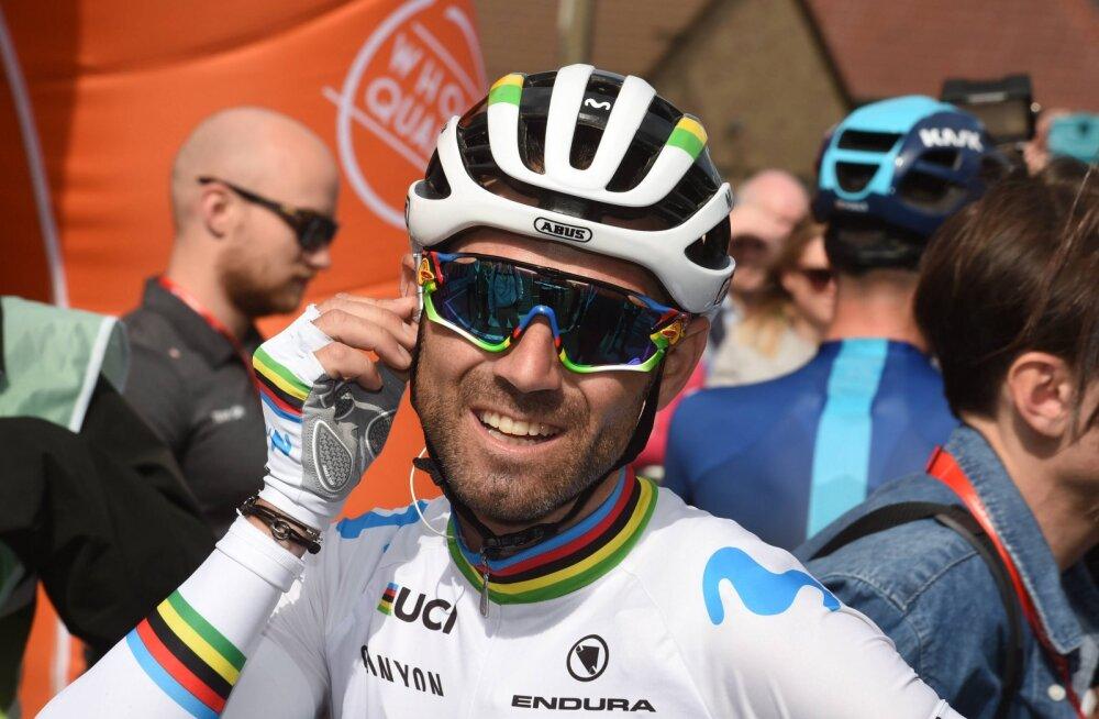 Pärnus toodetud padjal magav Valverde loobus seljavigastuse tõttu Itaalia velotuurist