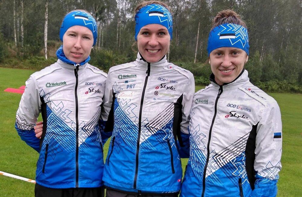 Eesti teatenaiskond saavutas orienteerumise MM-il seitsmenda koha
