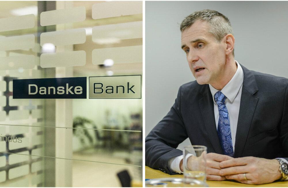 Danske Eesti juhid lasti Vene rahapesuskandaali tõttu lahti