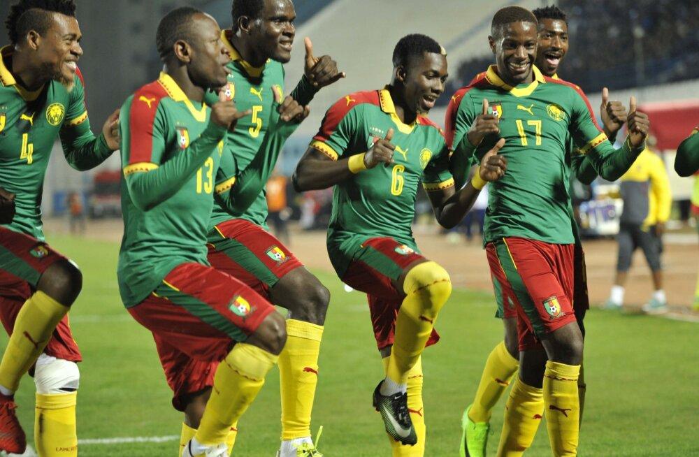 Kameruni jalgpallurid. Pilt on illustratiivne.