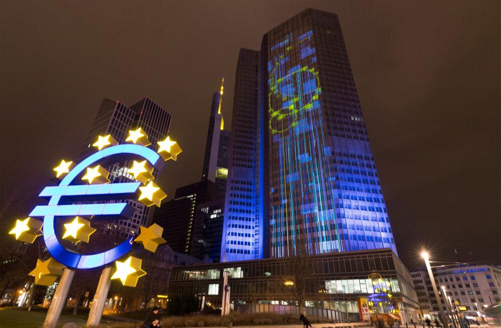 Prantsuse presidendivalimised: EKP on valmis päästma panku, aga mitte valitsusi