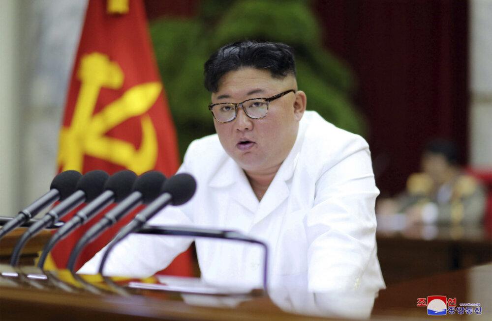"""Kim Jong-un nõudis """"positiivseid ja ründavaid"""" meetmeid julgeoleku tagamiseks"""