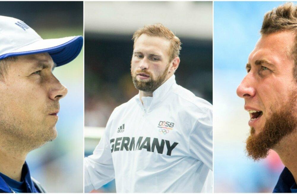 Gerd Kanter, Robert Harting, Martin Kupper