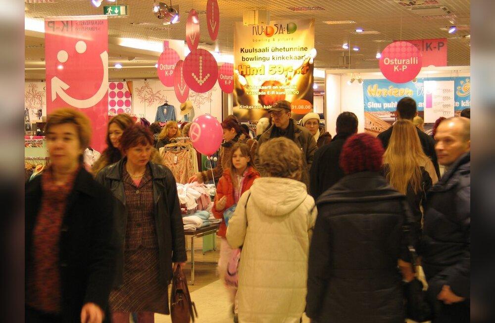 Tallinna Kaubamaja kontserni käive paisus enam kui kolmandiku