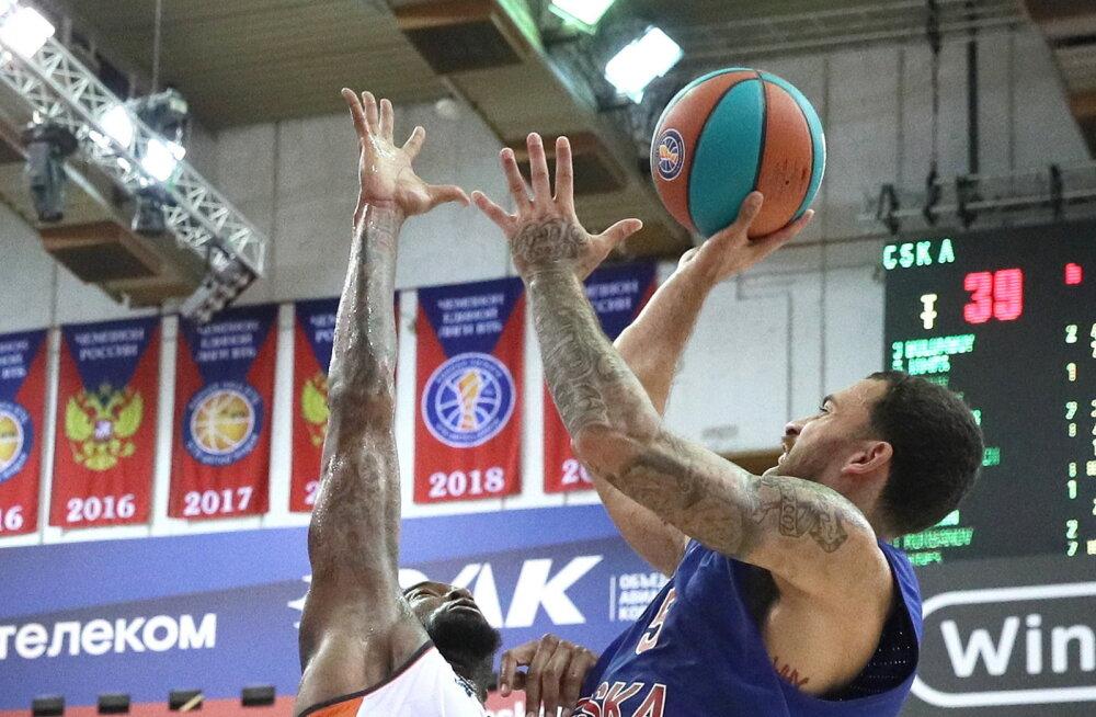 CSKA sai Euroliiga suurima korviküti toel VTB-s hooaja esimese võidu