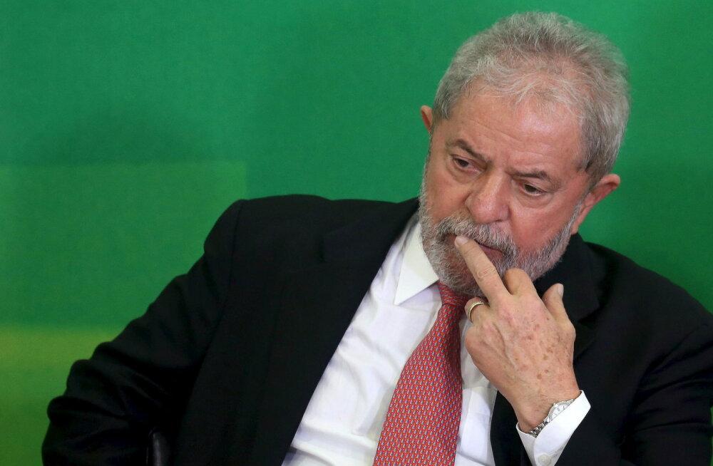 Экс-президента Бразилии приговорили к 9,5 годам по делу о коррупции