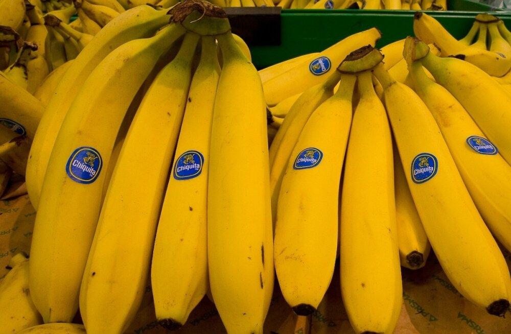 Tervisehädad ja haigused, mille peletamiseks tuleb lihtsalt banaani süüa