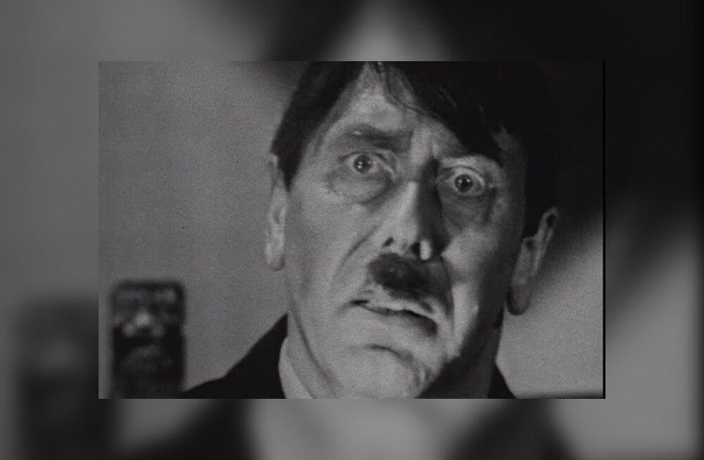 Анатолий Папанов в роли Адольфа Гитлера