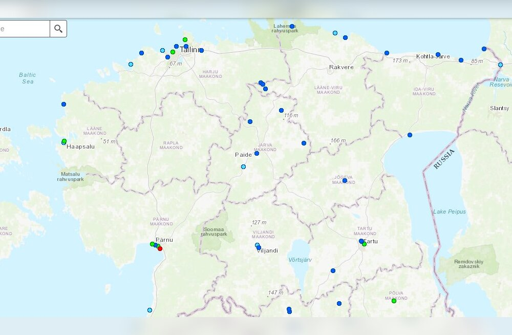 КАРТА: Более чем 66% мест для купания в Эстонии имеют воду отменного качества! Плохая вода лишь на одном пляже