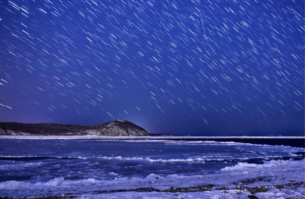 Pilgud taevasse: hea õnne korral saab lähipäevil näha geminiidide meteoorivoolu sähvivat valgust