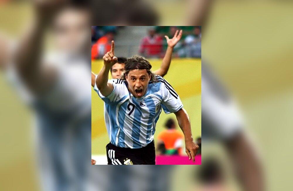 Argentina ründaja Hernan Crespo
