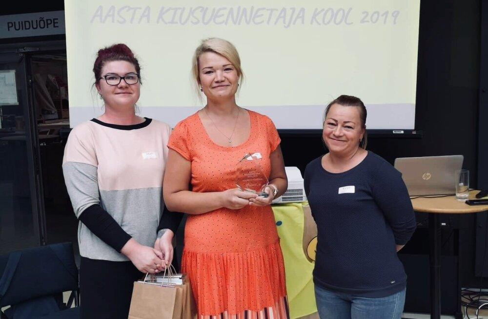 Kiusuennetaja kooli tiitli pälvis sel aastal Viljandimaal asuv põhikool