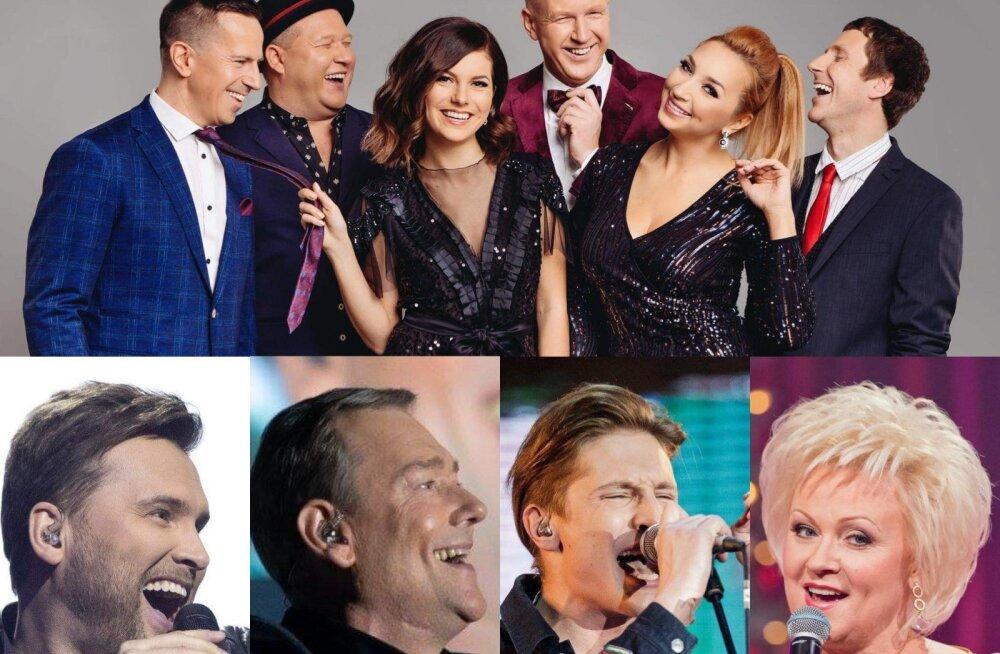 TOP10 | Kütet igale maitsele! Need Eesti A-kategooria peobändid ei jäta ainsatki muusikasõpra külmaks