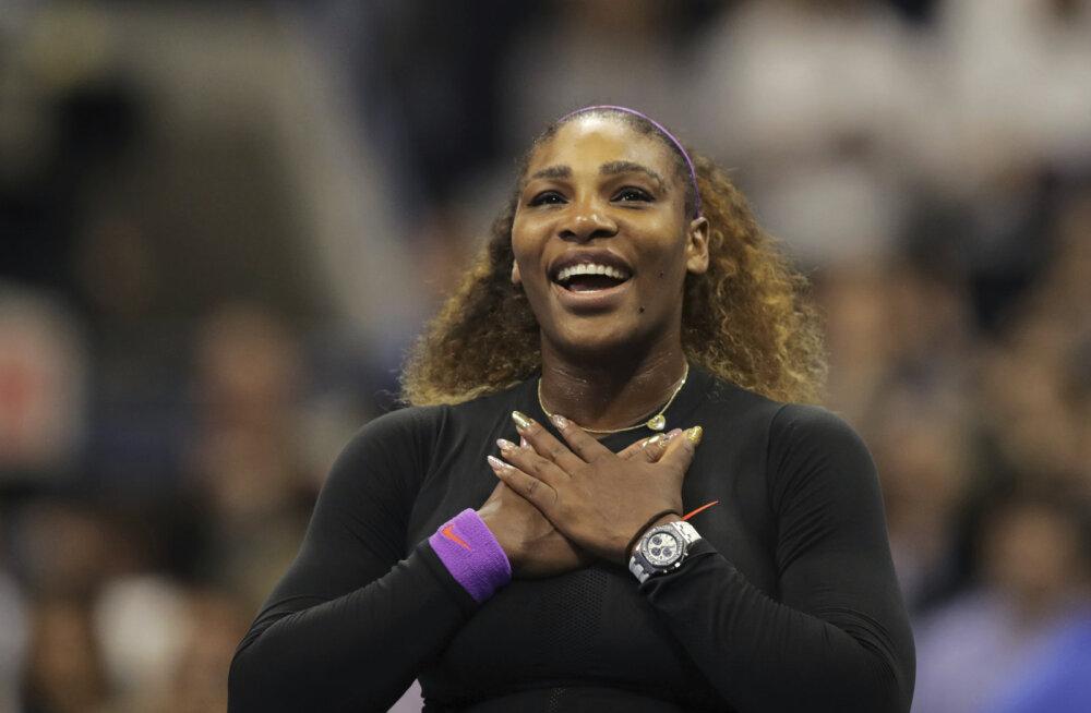 Serena Williams kohtub USA lahtiste finaalis endast ligi kaks korda noorema vastasega
