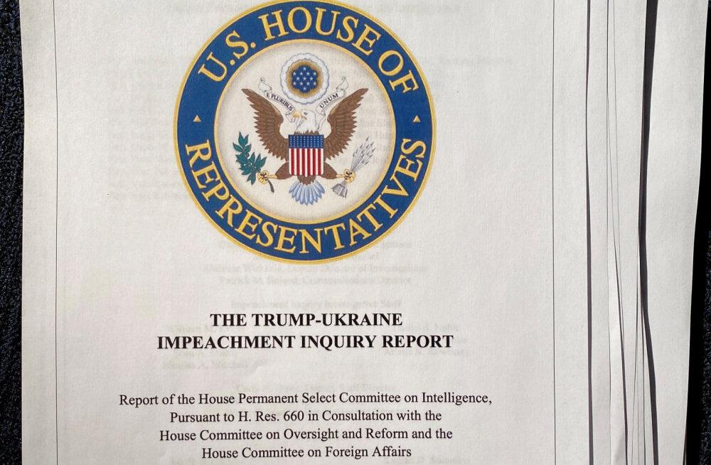Raport: asitõendid Donald Trumpi vastu on tohutud