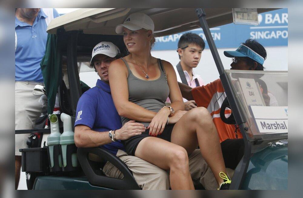 Rory McIlroy ja Caroline Wozniacki