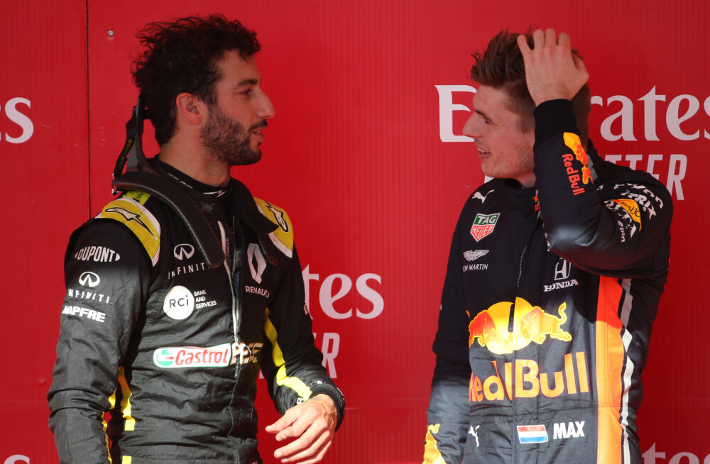 Daniel Ricciardo: ma ei kahetse Red Bullist lahkumist