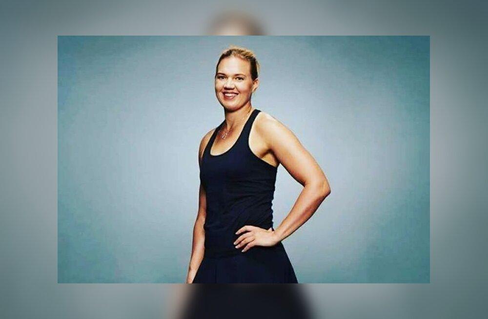Kaia Kanepi WTA fotosessioonil