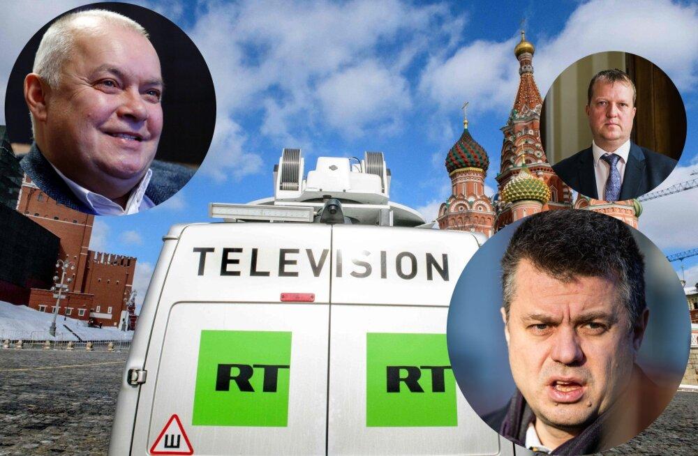 Эстония взвешивает возможность запретить кремлевский пропагандистский канал