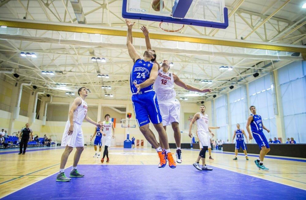 Korvpallikoondis Moskvas kolmas päev