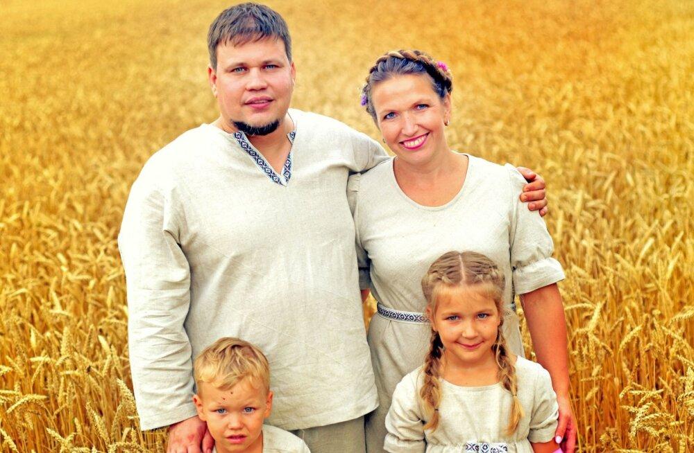 Perega maale elama: on müüt, et maal ei ole tööd ja maal elamine on väga raske