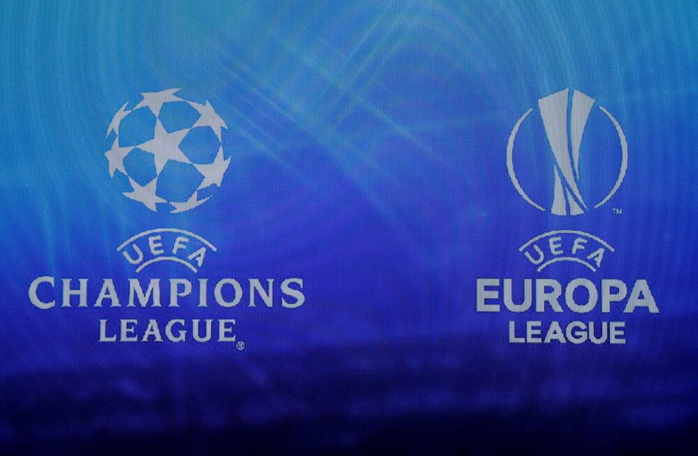Meistrite liiga ja Euroopa liiga logod