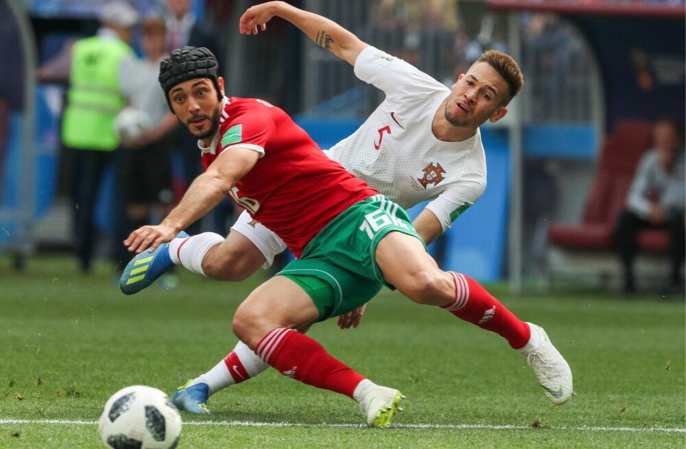Peapõrutuse saanud Maroko koondislane vilistas FIFA meditsiiniosakonna juhistele