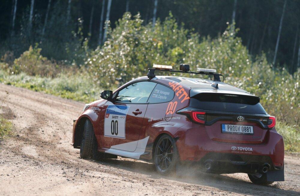 Dakari ralli veteran juhib Rally Estonial nullautot
