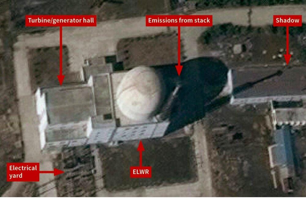 Põhja-Korea jätkab satelliidifotode järgi tuumakeskuse arendamist