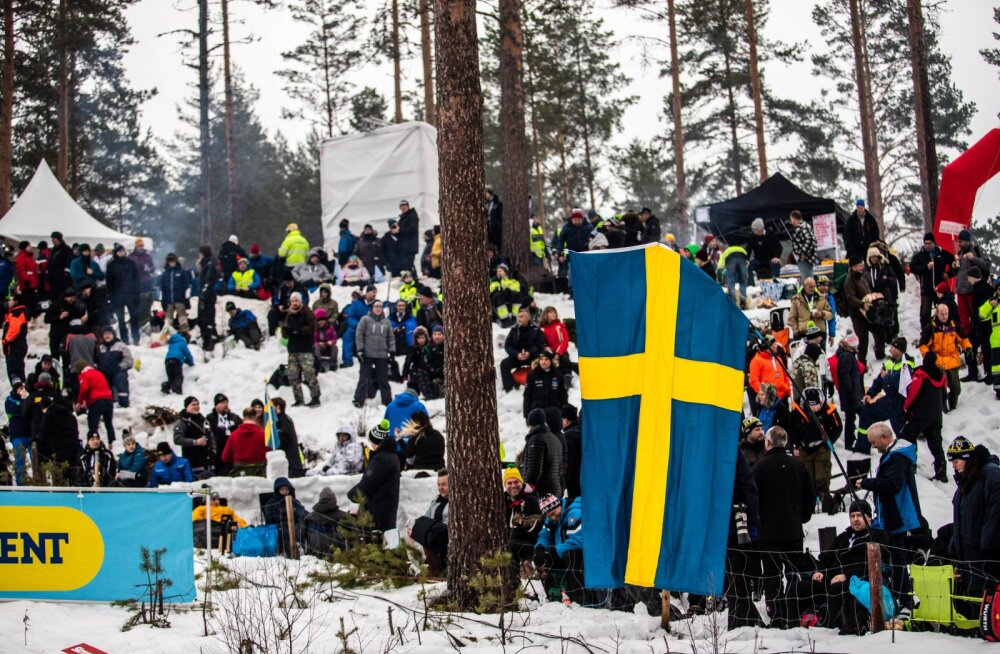 Mullu valitsesid Rootsi rallil väga talvised olud