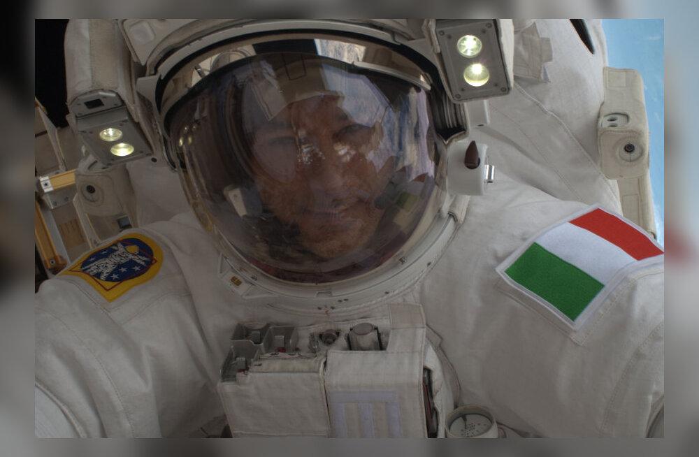 Itaalia astronaut oleks oma skafandris äärepealt ära uppunud