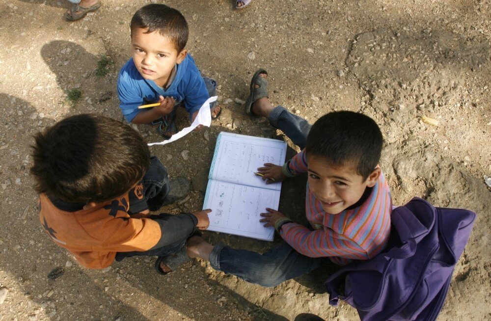 LEBANON-SYRIA-UN-CONFLICT-EDUCATION