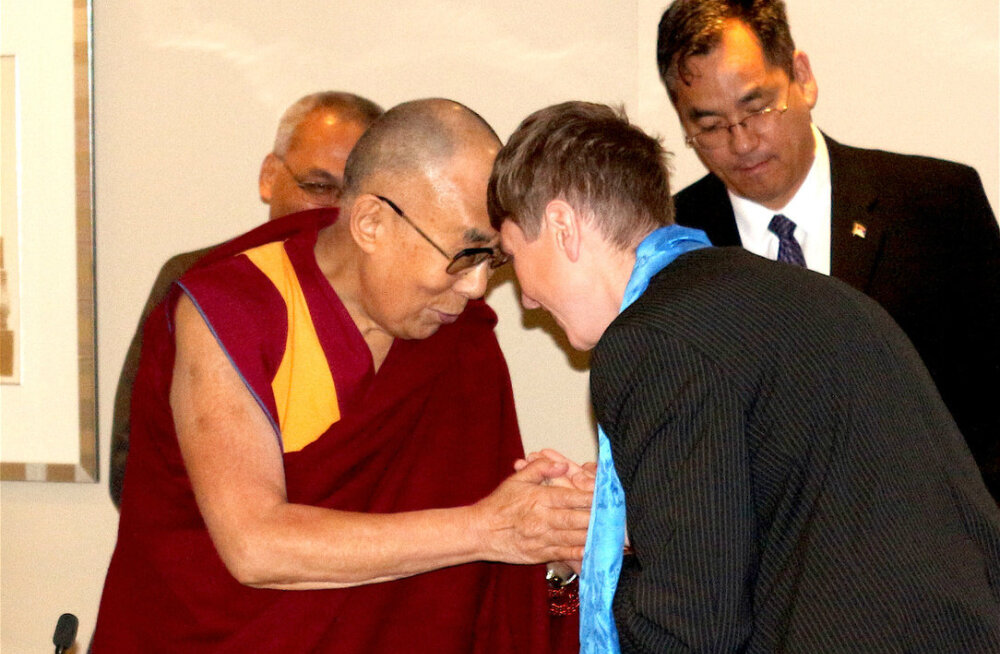 Dalai-laama: meil kõigil on vastutus, et luua rahulik ja õnnelik maailm