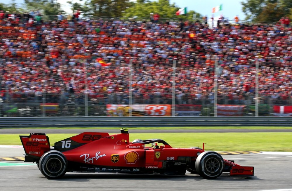 Charles Leclerc võttis Ferrari fännide ees magusa võidu.