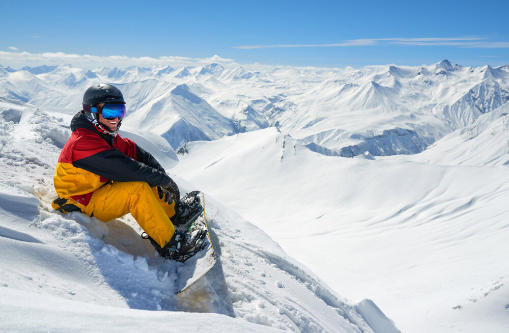 Imeline suusapuhkus Gruusia mägedes