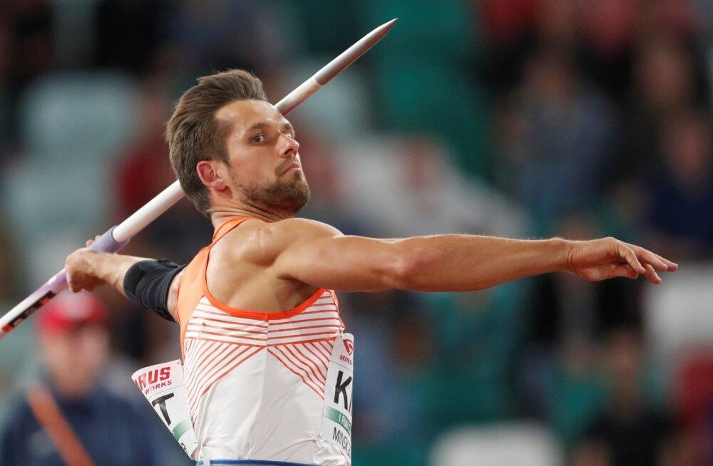 Kas Magnus Kirt võib tõusta viiendaks eestlaseks, kes võitnud kergejõustiku MM-il medali?