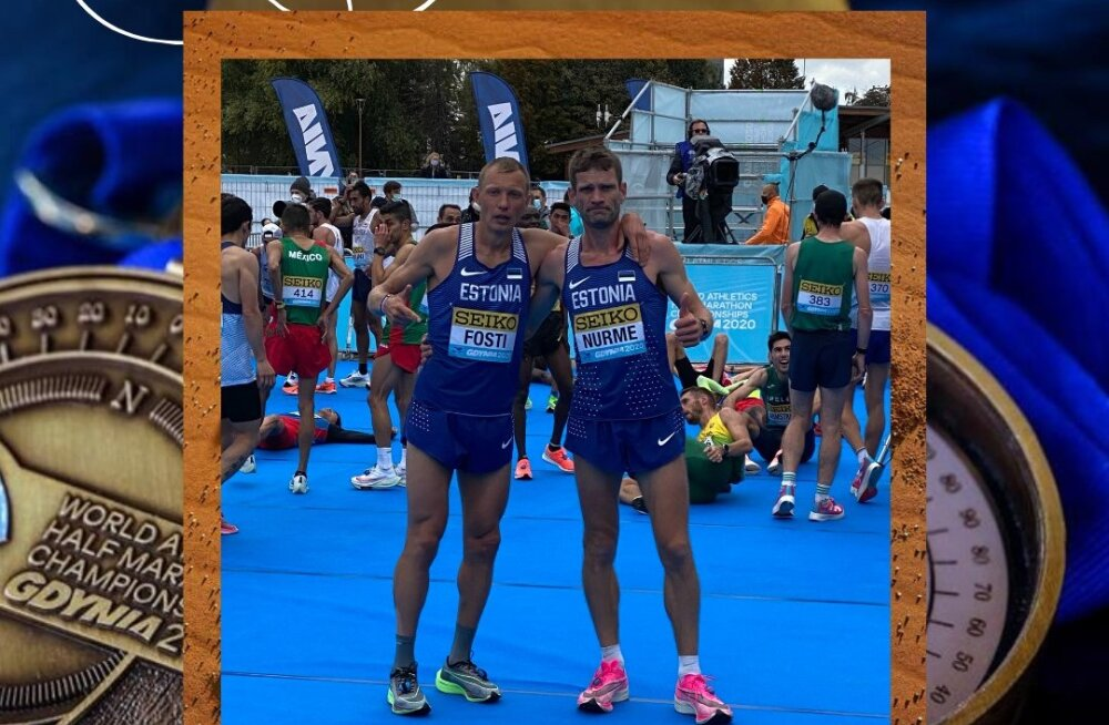 Roman Fosti ja Tiidrek Nurme eduka jooksu järel
