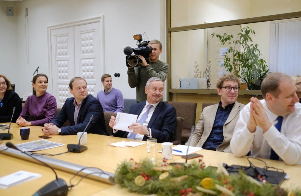 Reformierakonna juhatuse koosolek 20.12.2017