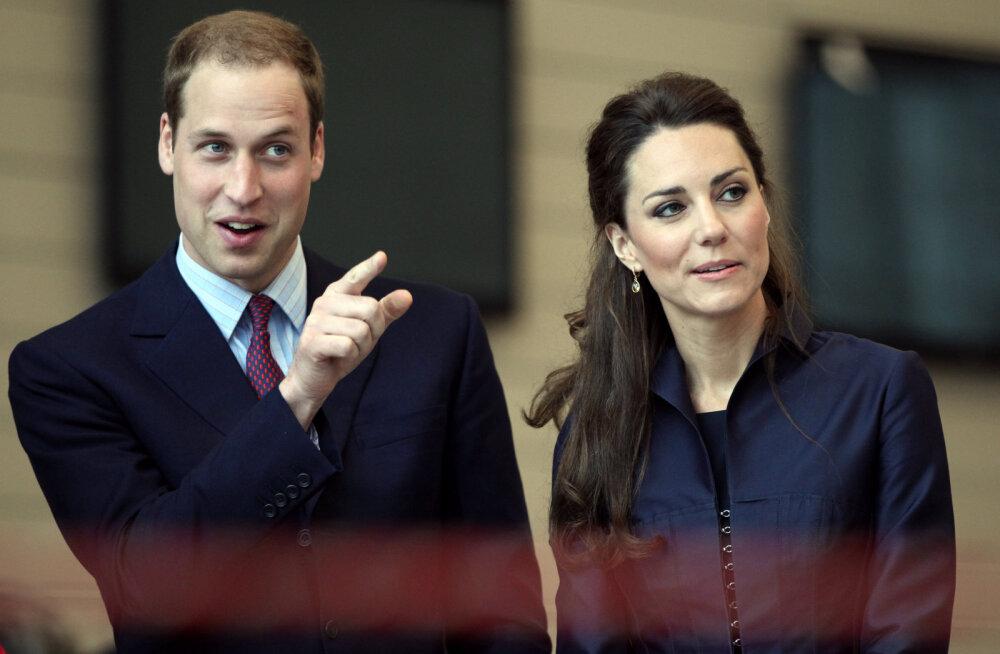 ARMAS KLÕPS | Kensingtoni palee avaldas prints Williamile ja Cambridge'i hertsoginna Catherine'ile üllataval moel austust