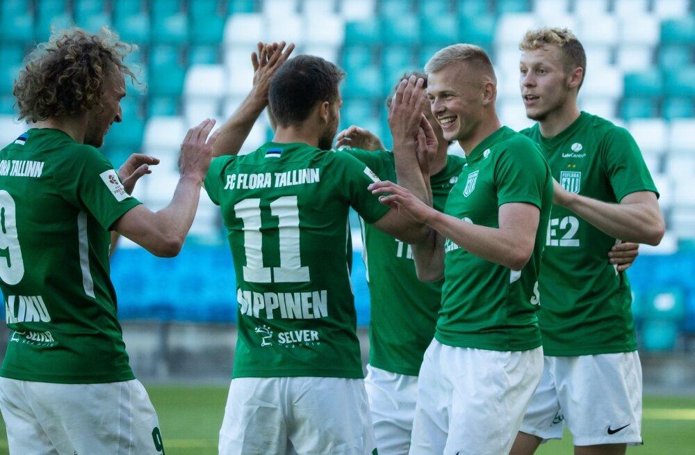 FC Flora vs Viljandi Tulevik 12.06.2020