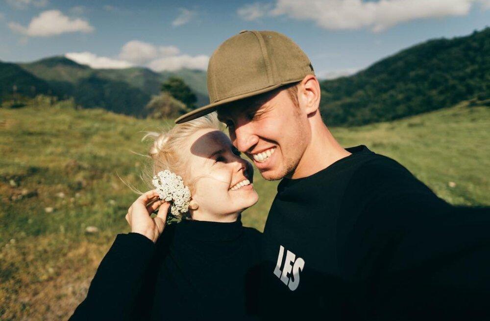 KLÕPS | Armastust kui palju! Piret Järvis-Milder ja Egert Milder tähistavad oma esimest pulma-aastapäeva