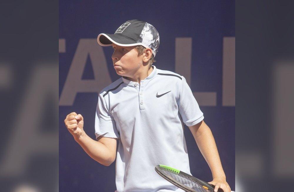 13-aastane Eesti noormängija sai Tennis Europe turniiril Islandil teise koha