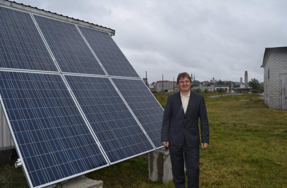 Mobiilside-tugijaamade toitmine päikeseenergia abil: Elisa muutub taas rohelisemaks