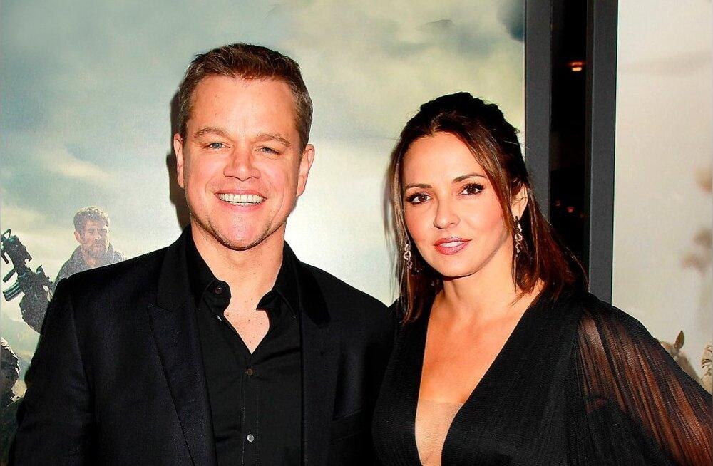 Matt Damon ja Luciana Barroso