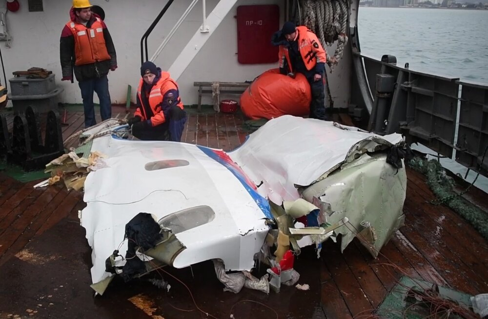 Interfax: Vene kaitseministeeriumi lennuki katastroofi uurijad ei leidnud terroriakti jälgi