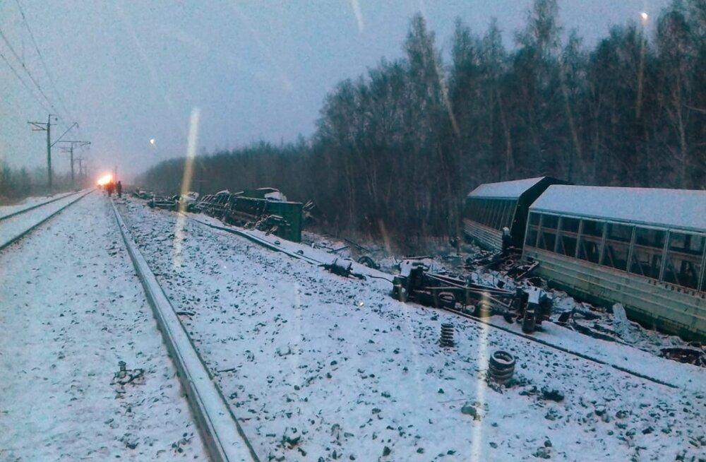 """Инсайт"": вагон Operail признан причиной аварии в Омске, Eesti Raudtee грозит большой штраф"